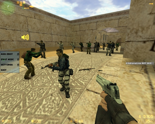 Counter-Strike 1.6 Andrenaline v3.6 Download