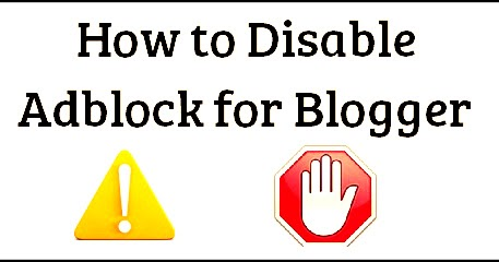 How To Add Anti Adblock Script in Blogger