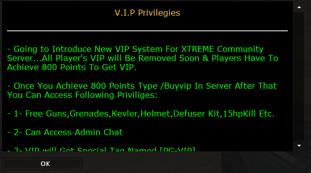 Counter-Strike 1.6 VIP Plugins Beta [ VIP TaG ]