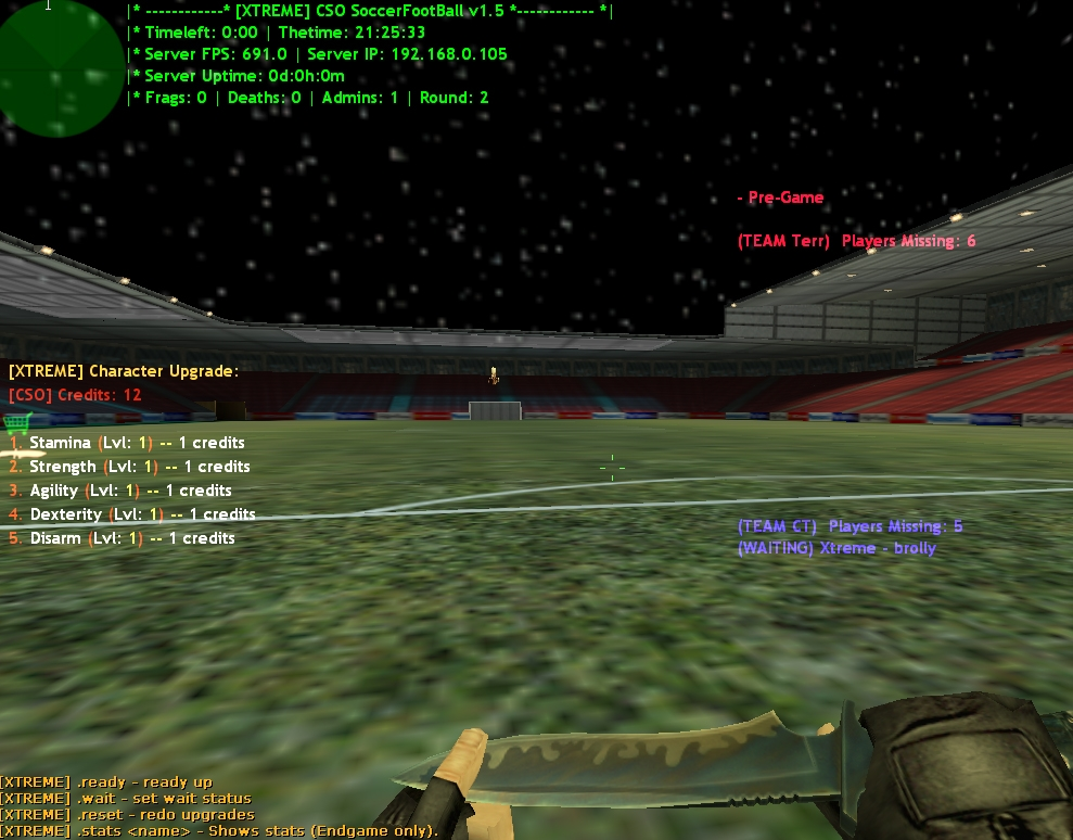 Counter-Strike 1.6 CSO Soccer XTREME Addon Download [ 2k17 ]