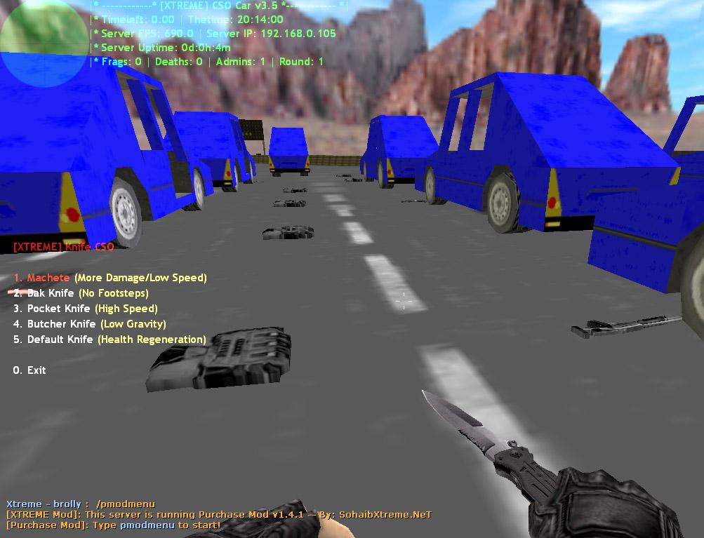 Counter-Strike 1.6 Car XTREME Addon Download [ 2k17 ]