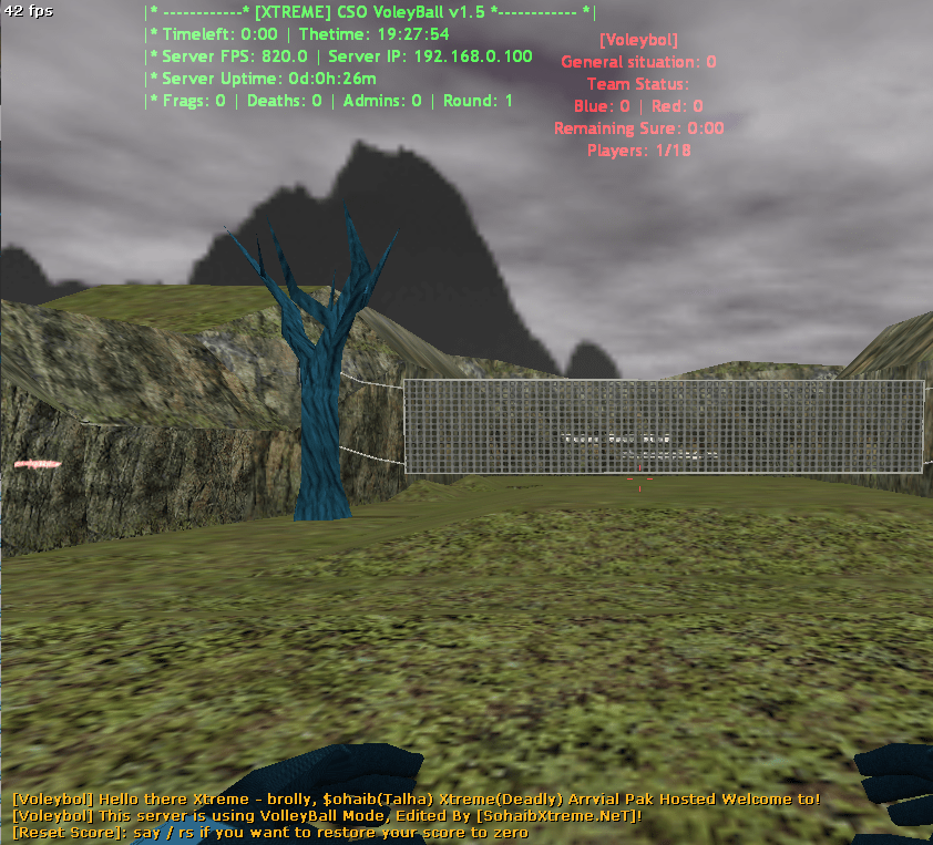 Counter-Strike 1.6 Voleybol XTREME Addon Download [ 2k17 ]