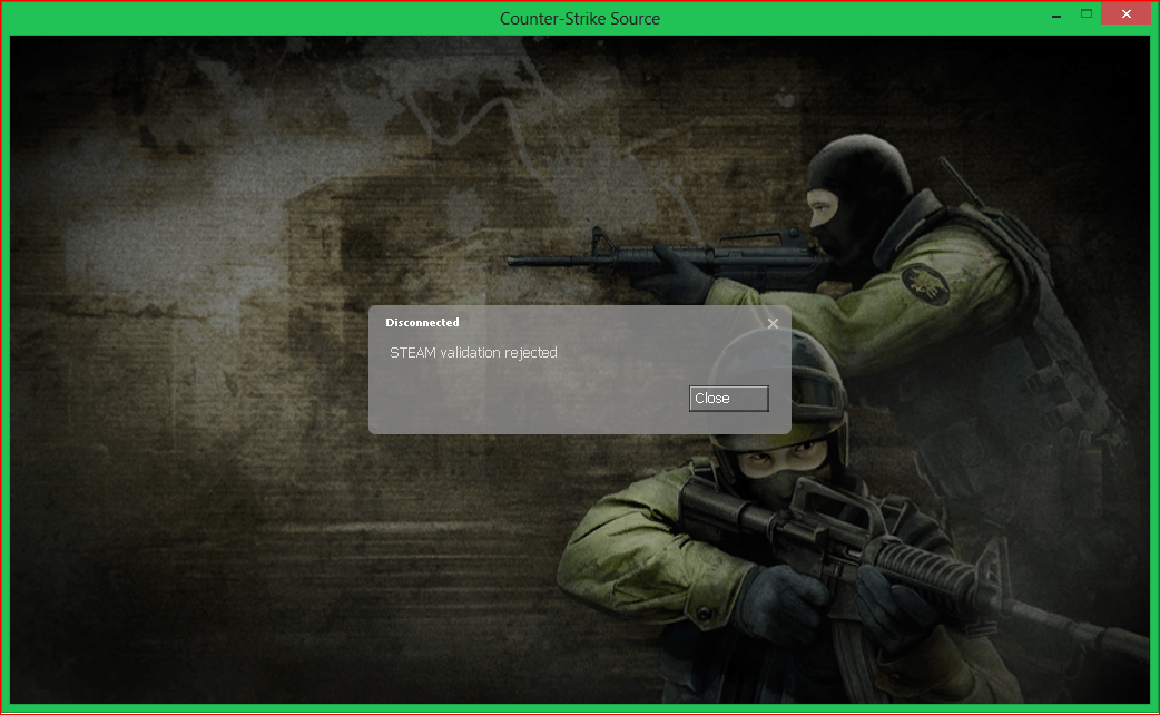 Counter-Strike Source Steam Validation Rejected Fix Linux [ 2k17 ]