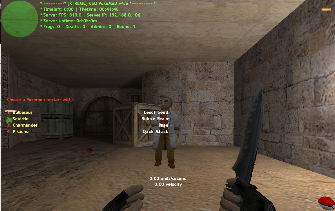 Counter-Strike 1.6 PokeMoD XTREME Addon Download [ 2k17 ]