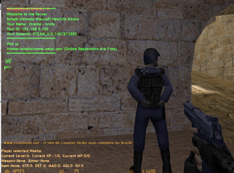 Counter-Strike 1.6 Final Fantasy XTREME Addon Download [ 2k17 ]