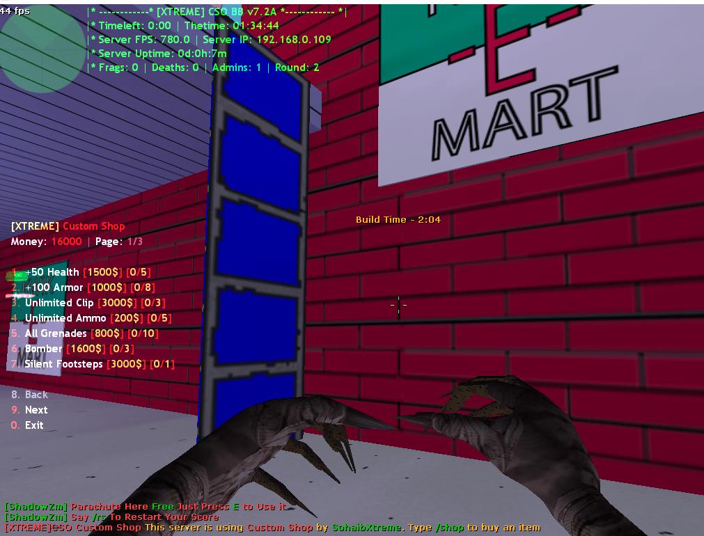 Counter-Strike 1.6 BaseBuilder 7.2a XTREME Addon Download [ 2k18 ]