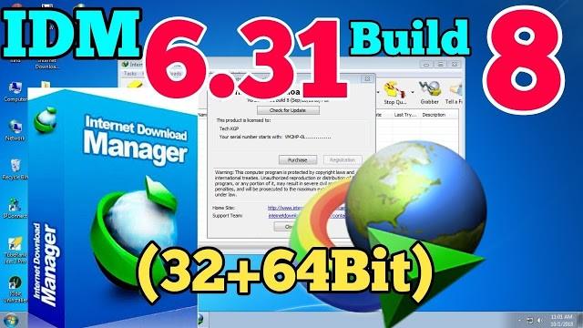 Internet Download Manager (IDM) 6.31 Build 8 Download [ Debug Patch ]