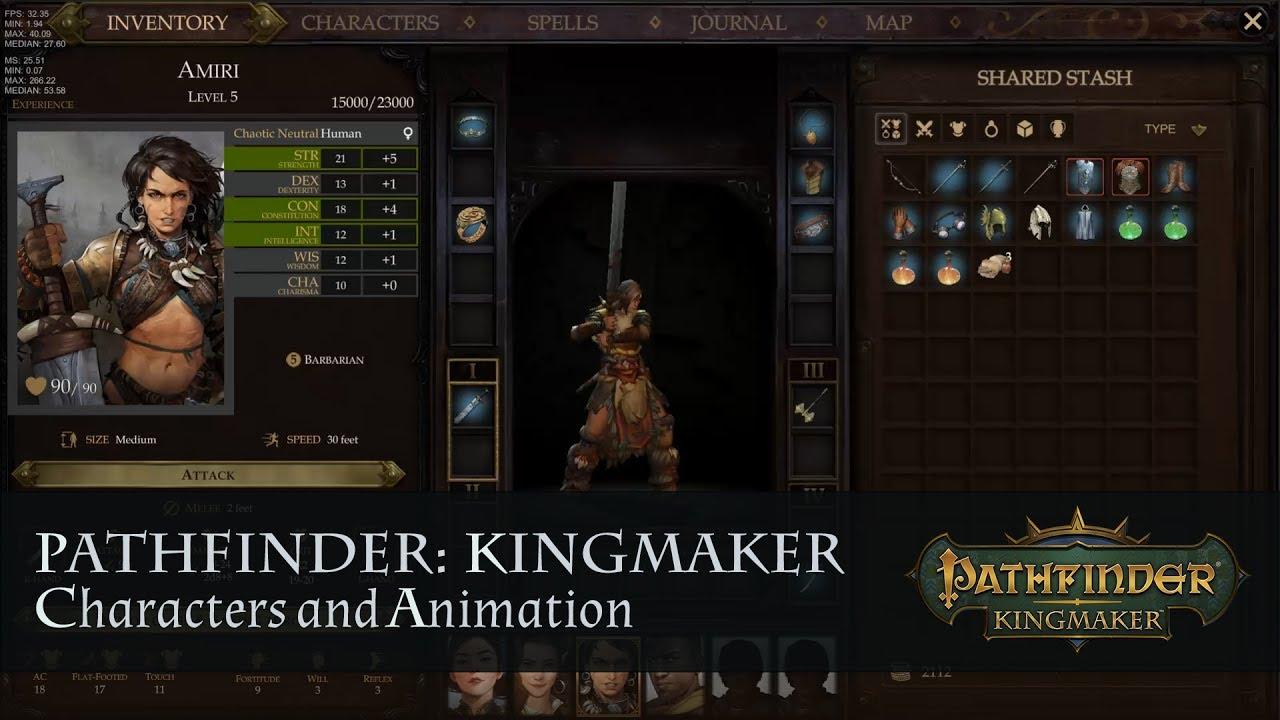 Pathfinder Kingmaker v1.1-CODEX PC Direct Download [ Crack ]