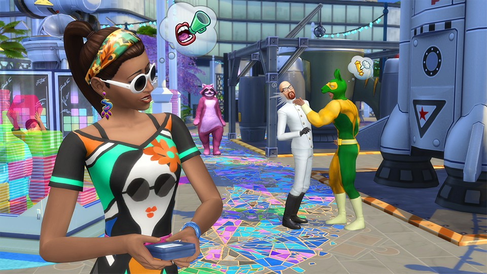 Sims 4 Get Famous Expansion Update v1.47.49.1020 DLCs Download