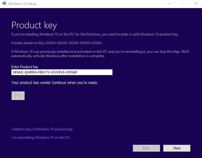 Windows 10 Pro With Genuine Product Key Download [ 64bit ]