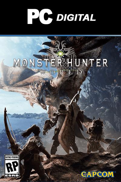 Monster Hunter World-CODEX PC Direct Download [ Crack ]
