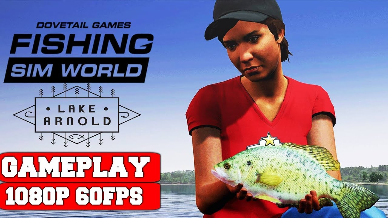 Fishing Sim World Lake Arnold-CODEX PC Direct Download [ Crack ]