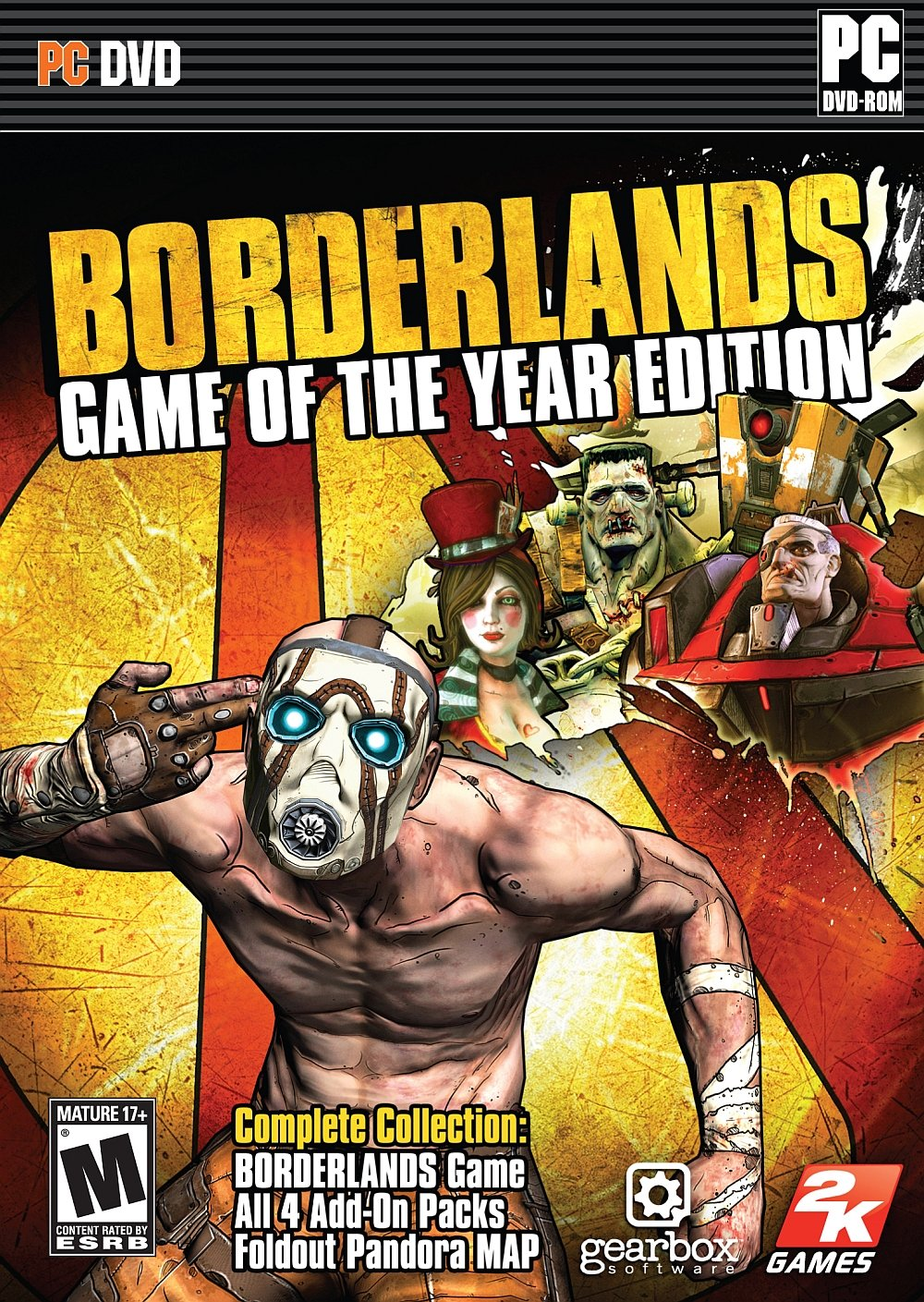 Borderlands Game of the Year Enhanced-PLAZA PC Direct Download [ Crack ]