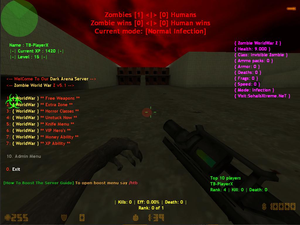 Counter-Strike 1.6 Zombie Destruction Hell Night ADDON [ 2k19 ]