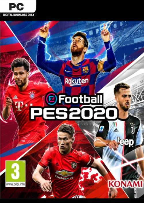 EFootball PES 2020-UNLOCKED PC Direct Download