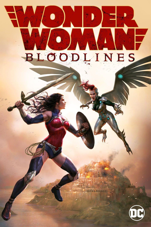 Watch Wonder Woman Bloodlines (2019) Movie Full HD [ Download ]
