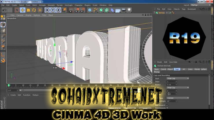 Cinema 4D R19 Studio Pre-Crack Software PC Download [ 2020 ]