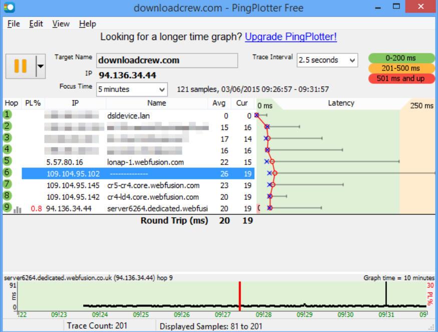 PingPlotter Pro 5.17.1.7872 + Key PC Download [ Crack ]