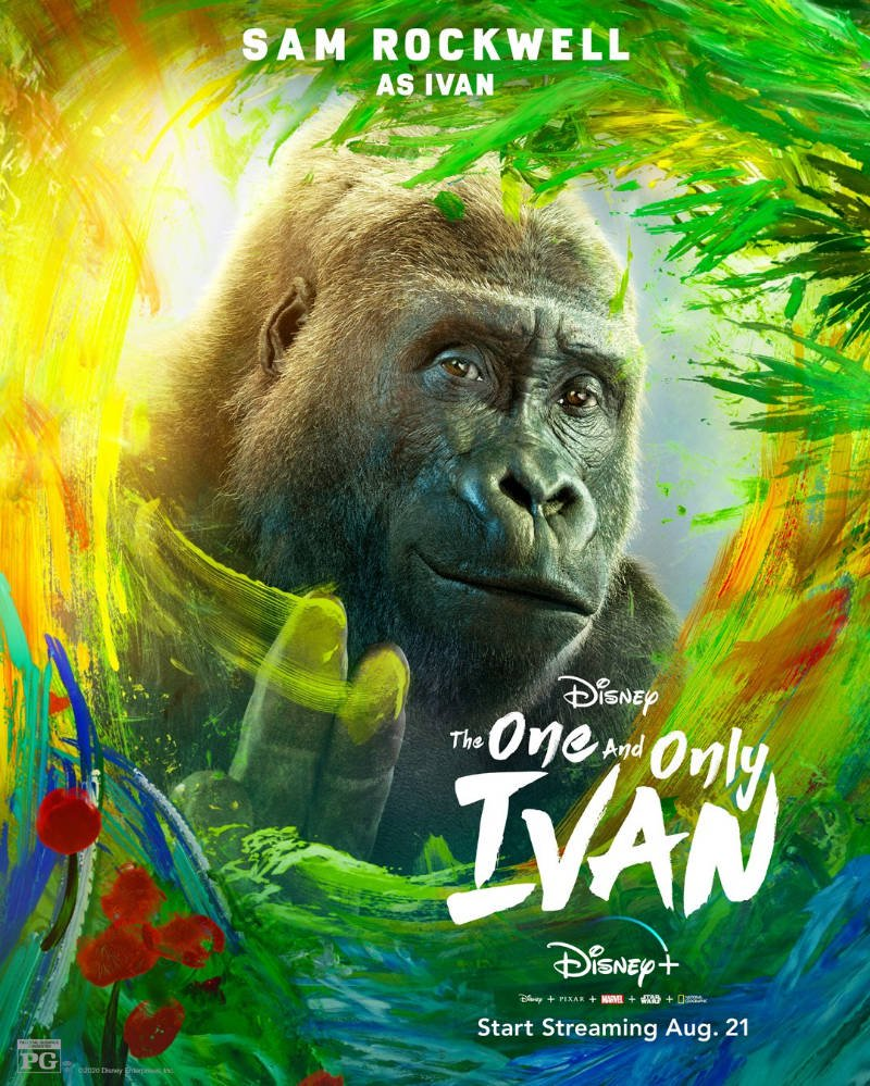 Watch The One and Only Ivan (2020) Movie Full HD [ Download ]