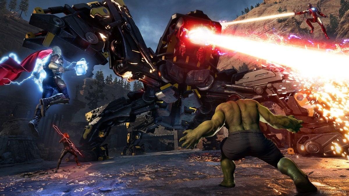 Download Marvels Avengers-FULL UnLockeD In PC [ Torrent ]