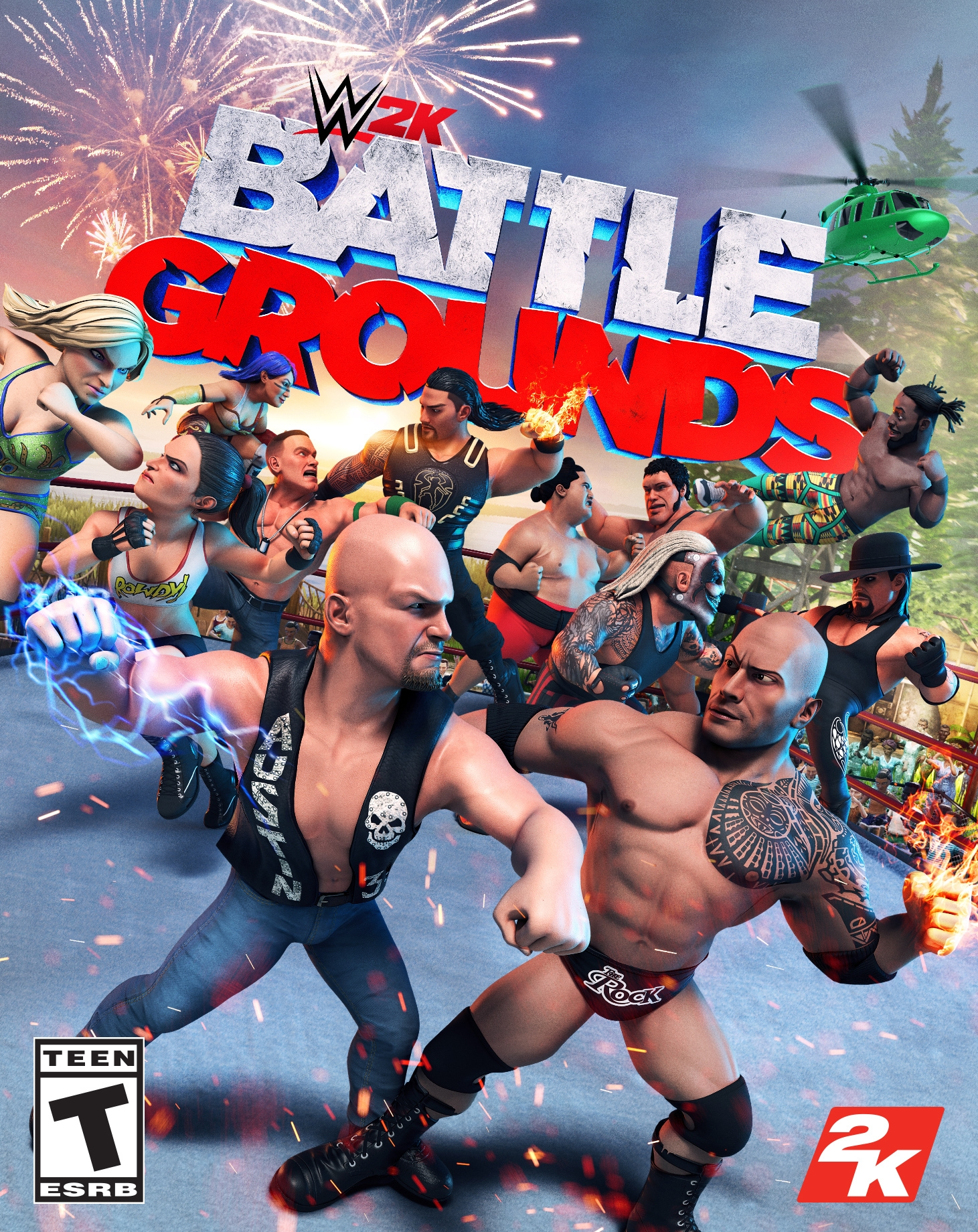Download WWE 2K BattleGrounds-CHRONOS In PC [ Torrent ]