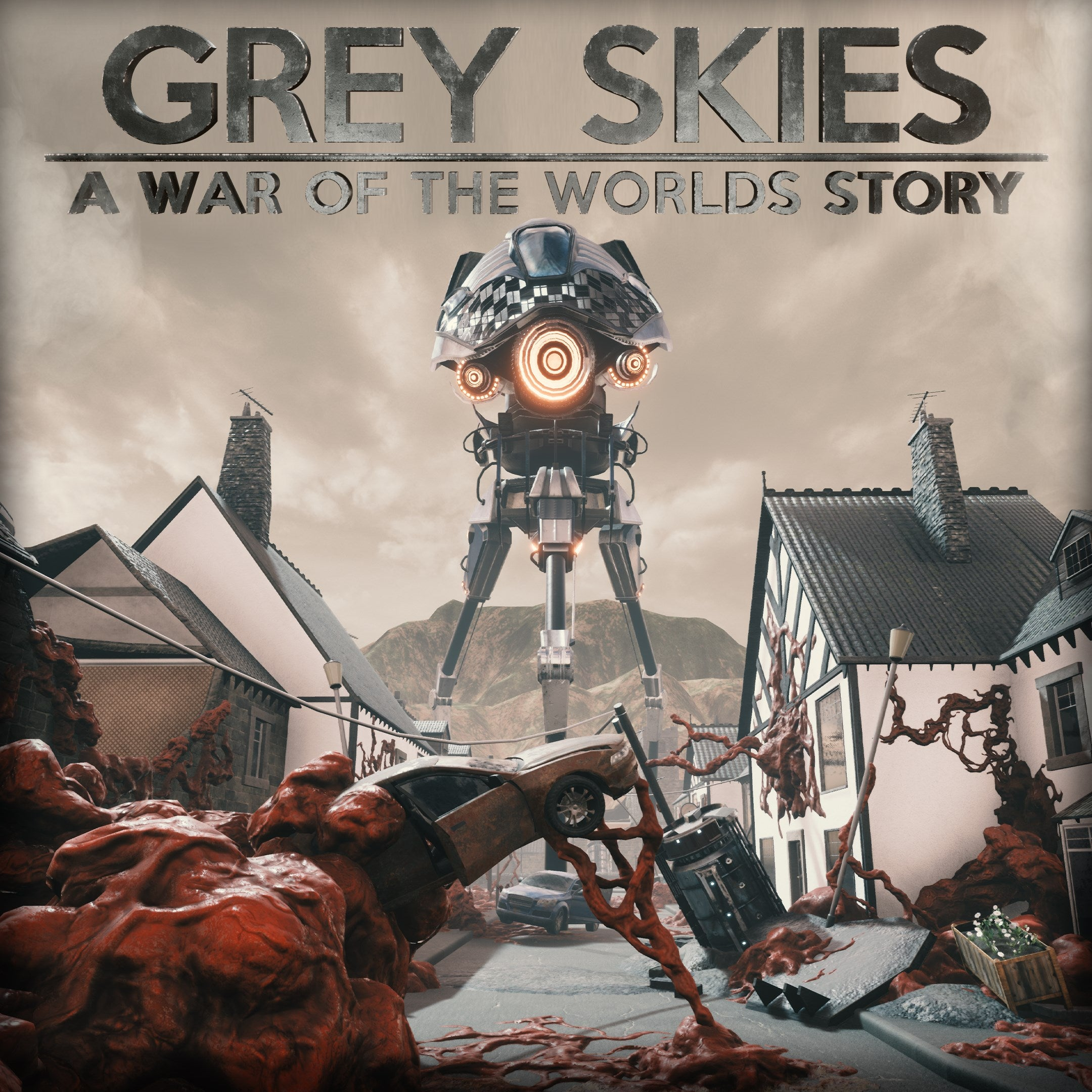 Download Grey Skies A War Of The Worlds Story-CHRONOS In PC [ Torrent ]