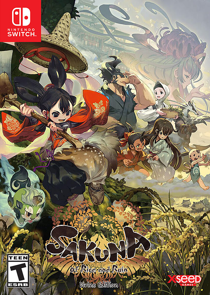 Download Sakuna Of Rice And Ruin-CHRONOS In PC [ Torrent ]