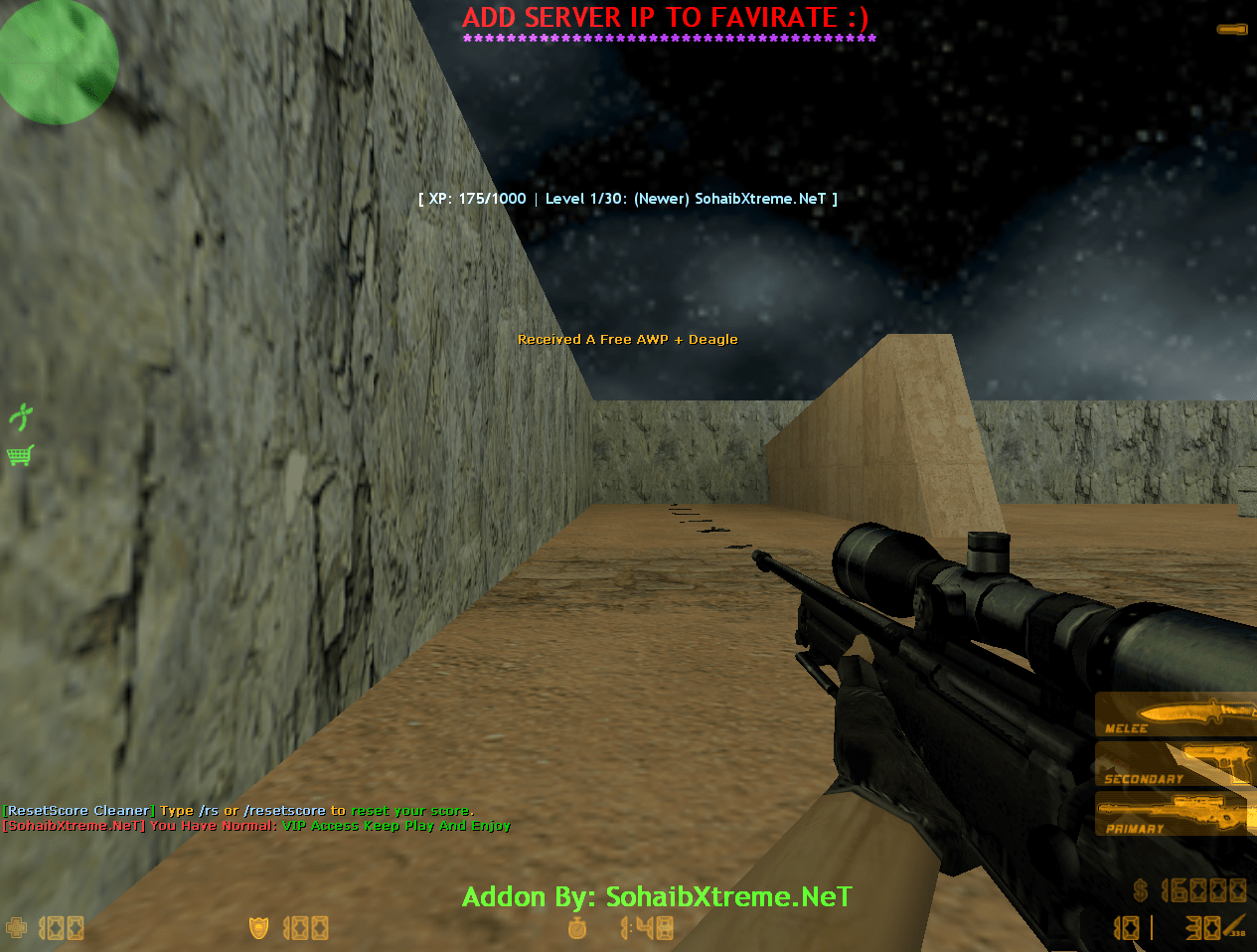 Counter-Strike 1.6 AFK CSO ADDON/MoD [ 2k21 ]