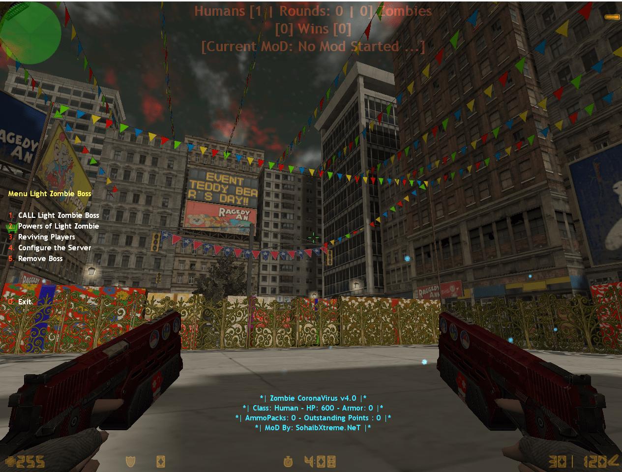 Counter-Strike 1.6 Zombie Big BoSS v2.0 Addon/Mod Download [ 2k21 ]