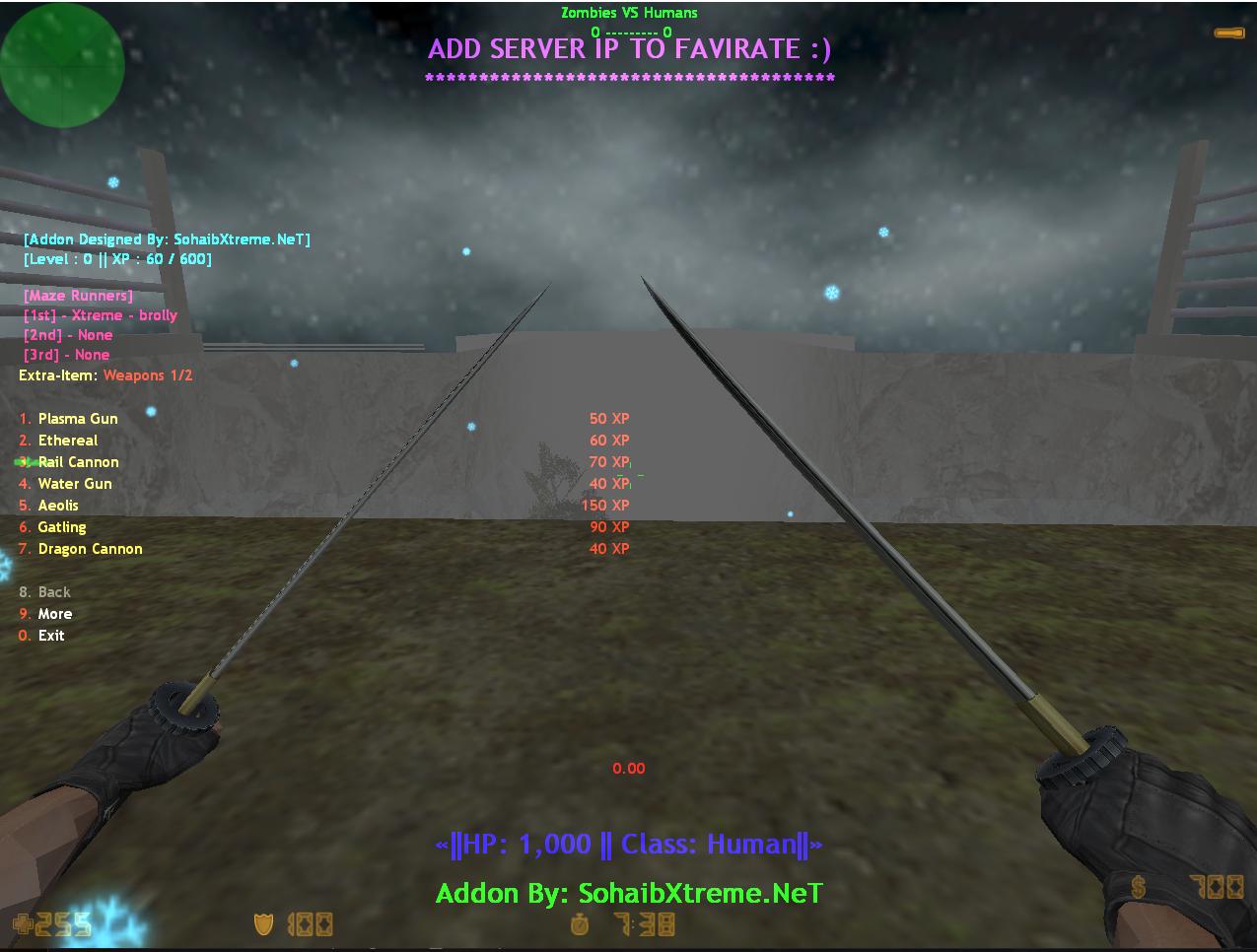 Counter-Strike 1.6 ZombieXtreme Escape v2.5 Addon/Mod Download [ 2k21 ]