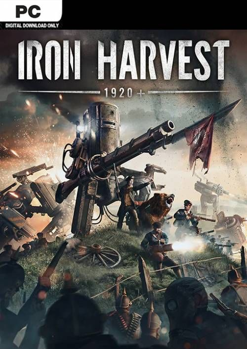 Download Iron Harvest Deluxe Edition v1.1.5.2145-P2P in PC [ Torrent ]