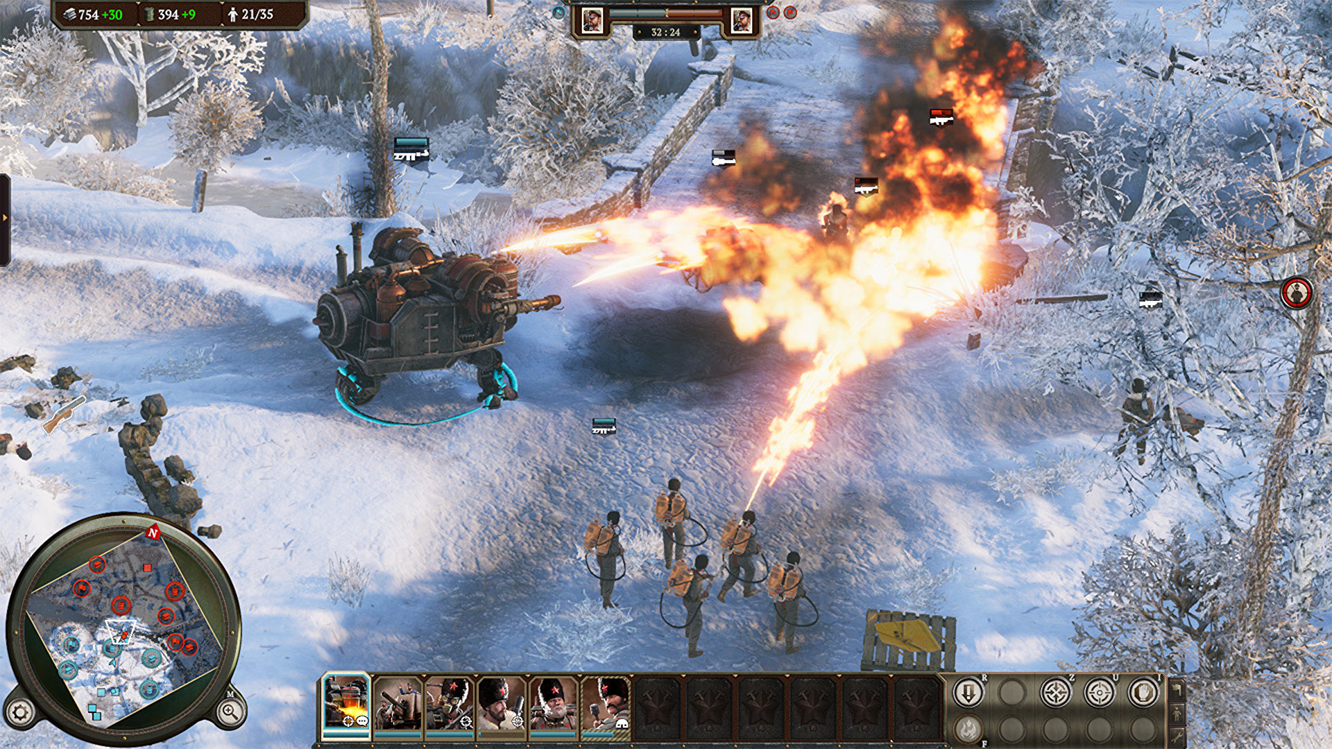 Download Iron Harvest Operation Eagle-CODEX in PC [ Torrent ]