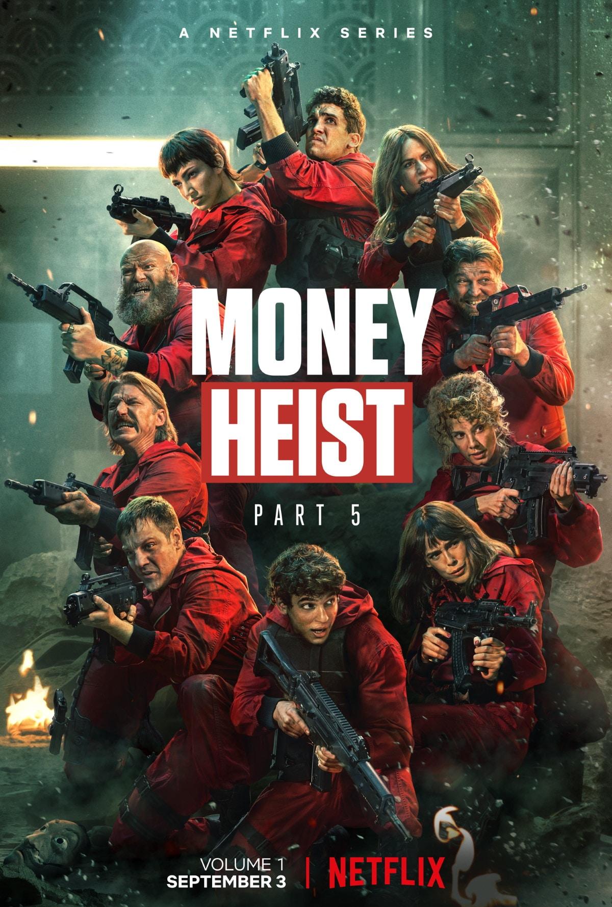 Watch Money Heist Season 5